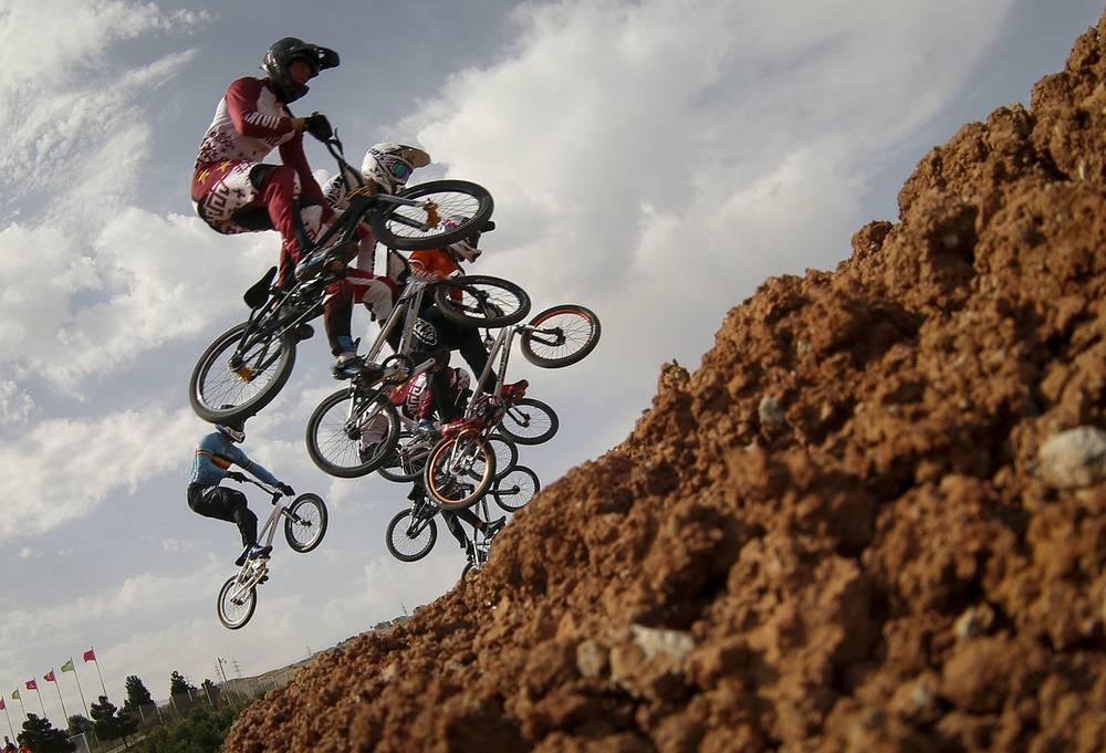 Соревнования по BMX на Европейских играх в Баку
