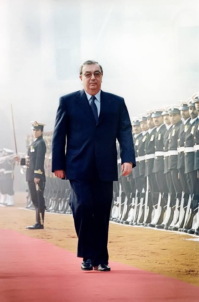 Визит премьер-министра правительства России Евгения Примакова в Индию, 1998 год