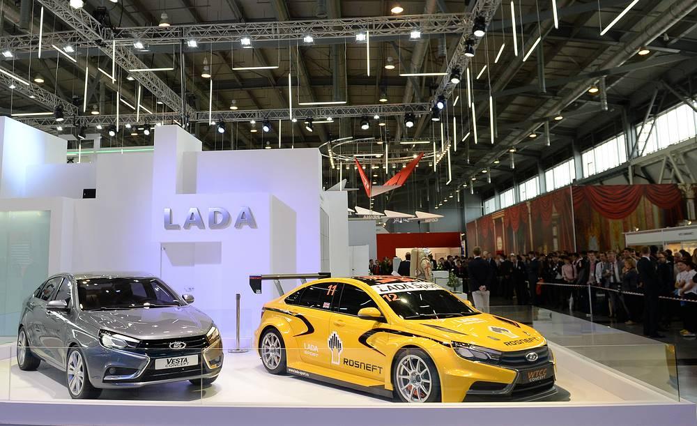 """На """"Иннопроме"""" состоялась презентация концепт-каров LADA"""