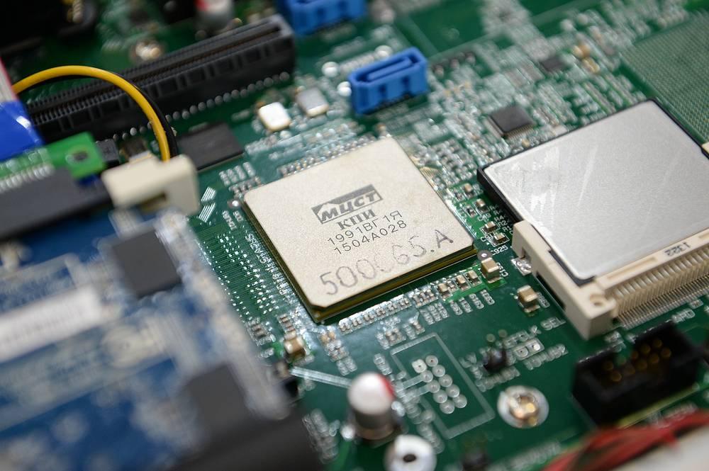 """Российский микропроцессор """"Эльбрус"""" госкорпорациии """"Ростех"""". В 2016 году его планируется запустить в серийное производство"""