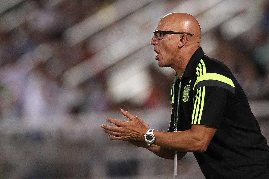 Тренер юношеской сборной Испании Луис де ла Фуэнте