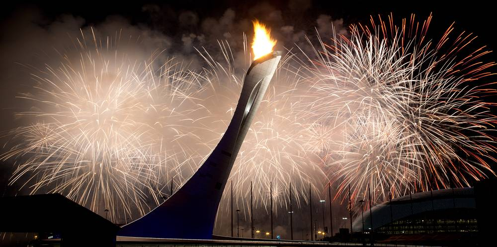 XXII зимние Олимпийские игры в Сочи, Россия, 2014 год. Сборная России стала триумфатором домашних Игр, завоевав 33 медали (13 золотых, 11 серебряных, 9 бронзовых наград)