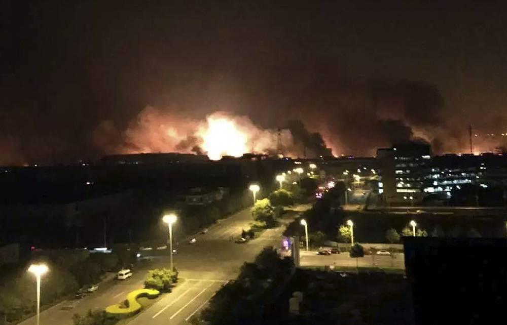 12 августа 2015 года около полуночи на севере Китая прогремел мощный взрыв на складе в портовом городе Тяньцзинь