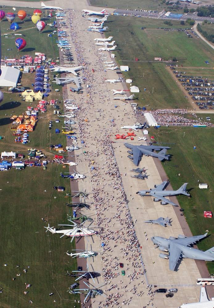 МАКС-2005: в этом году авиашоу был присвоен статус мероприятия федерального значения