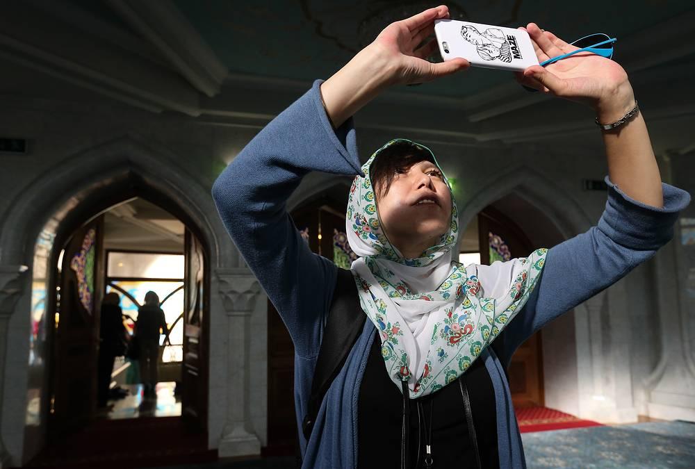 Мечеть Кул-Шариф на территории Казанского кремля