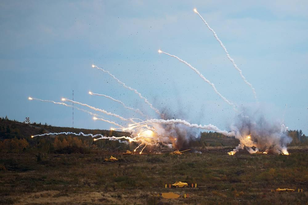 Бомбоштурмовой удар, который нанесли по целям бомбардировщики Су-24М