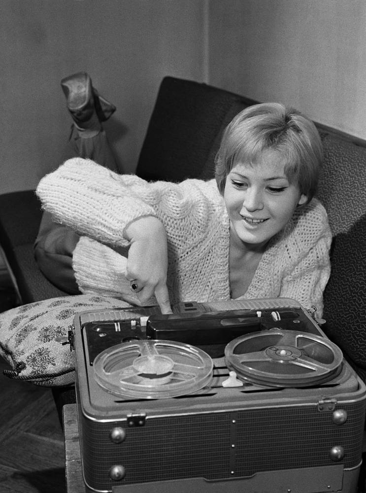 Актриса Людмила Максакова, 1964 год