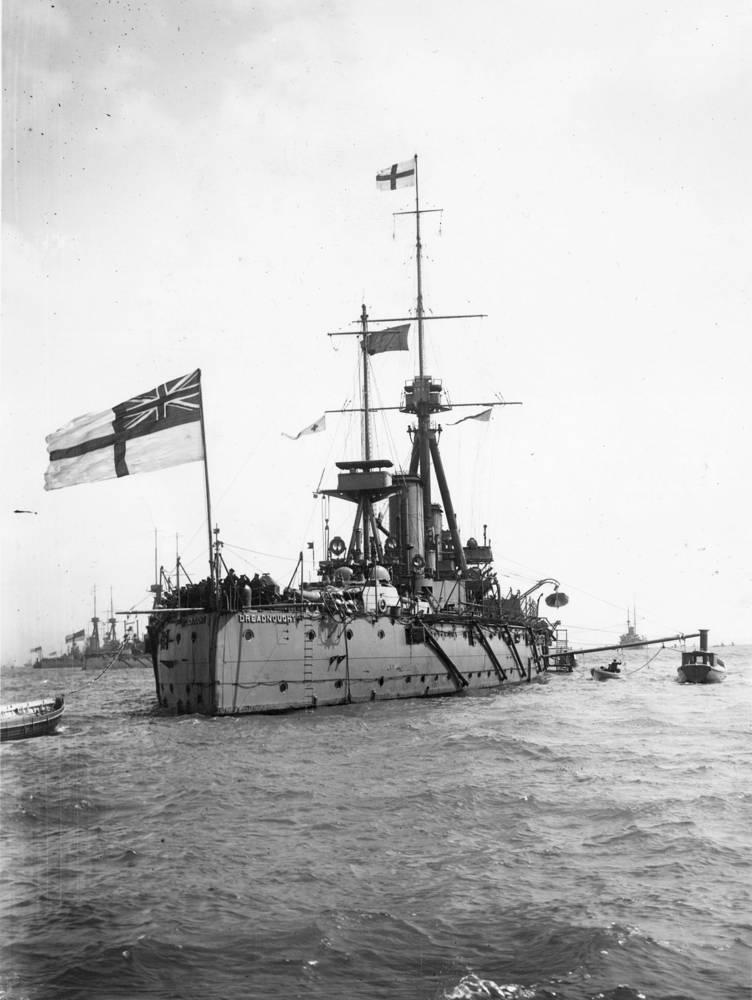 HMS Dreadnought. 1909 год