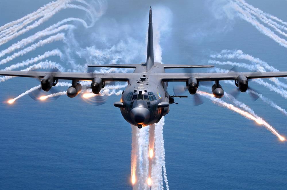 Самолет специальных операций AC-130H