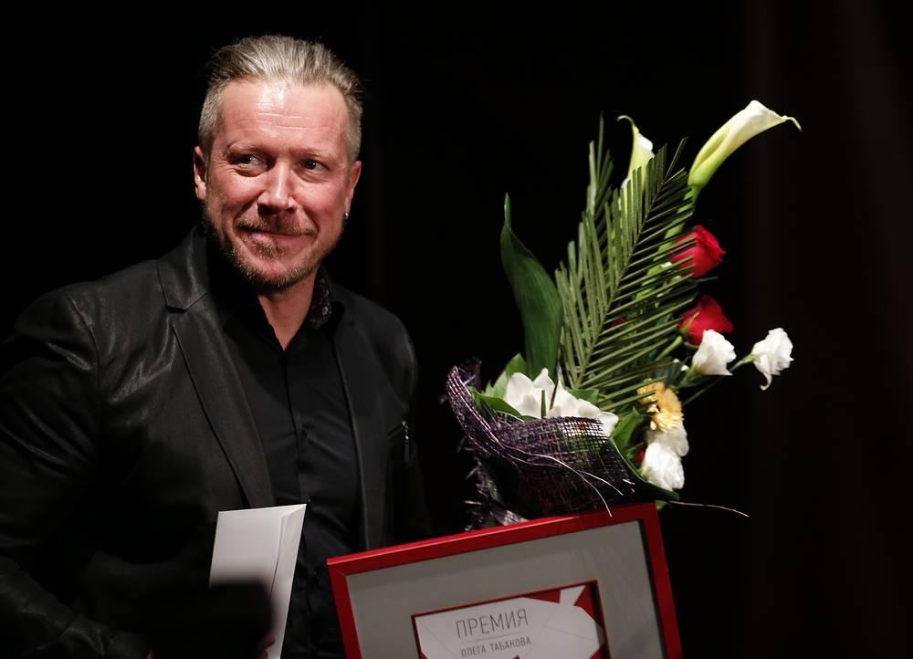 Лауреат премии актер Алексей Кравченко