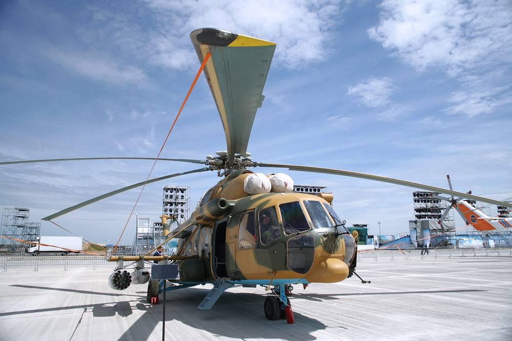 Вертолет Ми-17Ш ВВС Казахстана