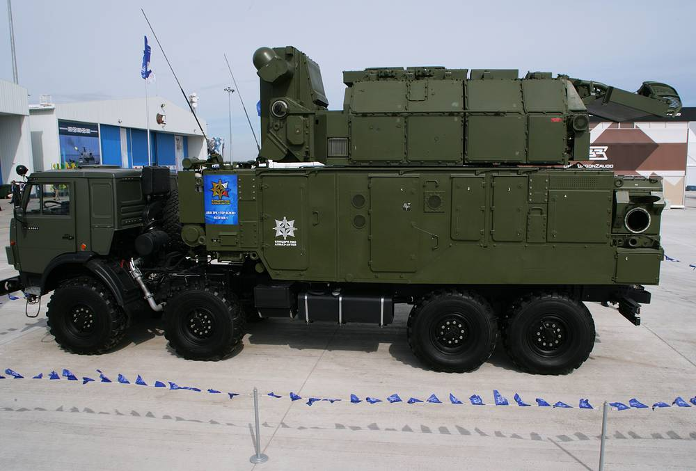 """Автономный боевой модуль 9А331МК1 из состава зенитного ракетного комплекса """"Тор-М2КМ"""""""