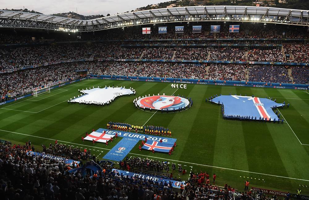 ЧЕ2016 Исландия-Англия 2:1