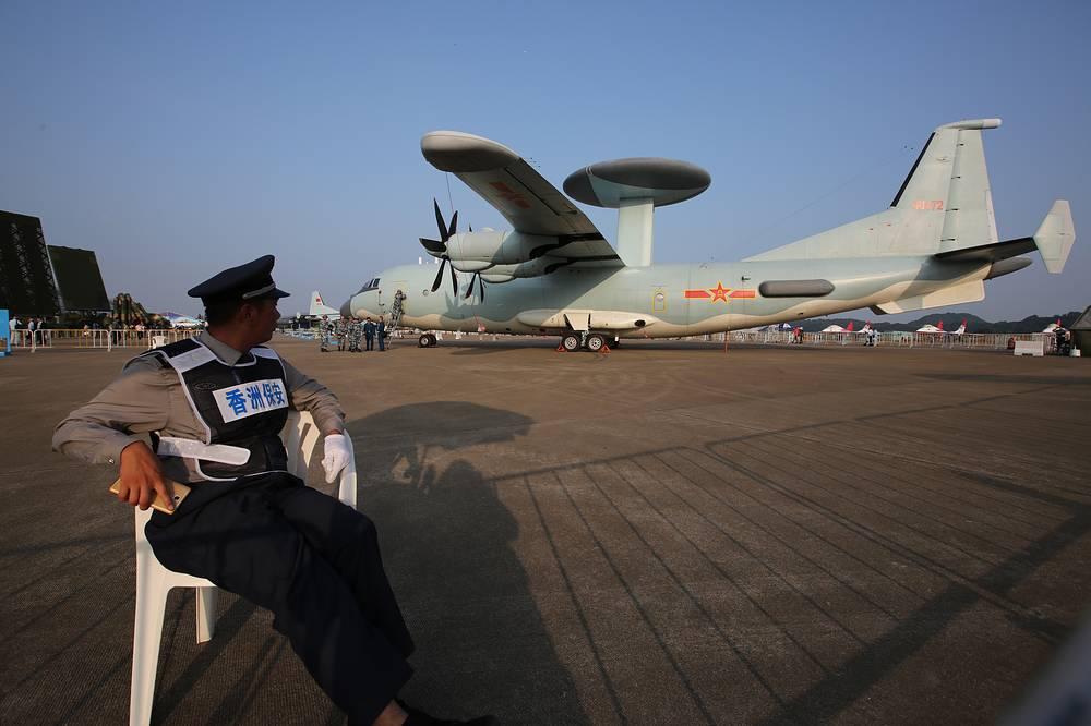 Китайский самолет дальнего радиолокационного обнаружения и управления KJ-500