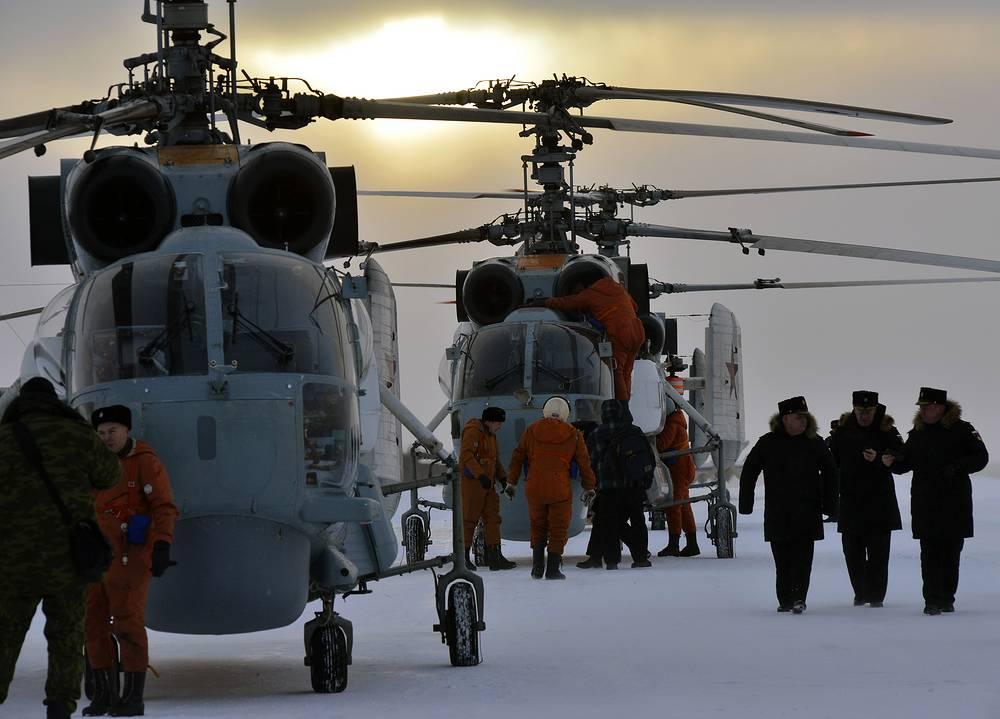 Многоцелевые вертолеты Ка-27