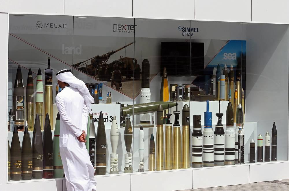 Беприпасы на выставке IDEX в Абу-Даби