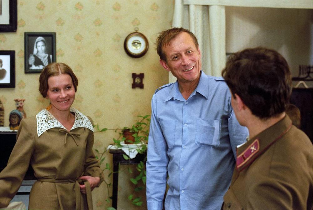 "На съемках фильма ""Детский сад"", 1983 год"
