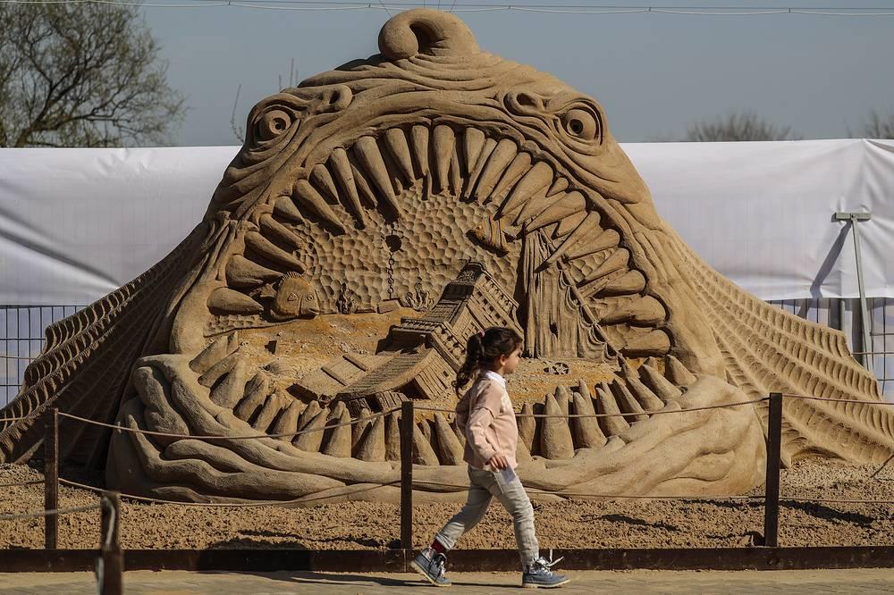 """Скульптура """"Тайны морей"""""""