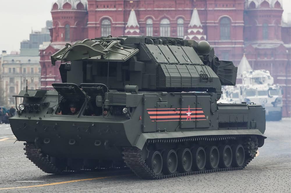 """Зенитный ракетный комплекс """"Тор-М2У"""""""