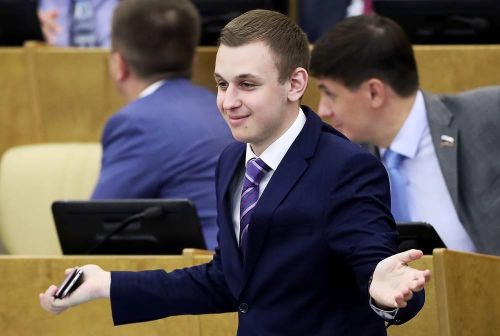 Член комитета Госудумы по физической культуре, спорту, туризму и делам молодежи Василий Власов