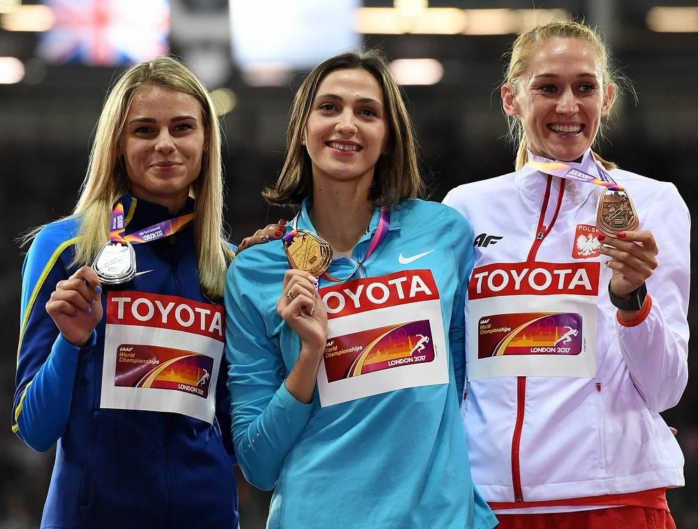 Юлия Левченко, Мария Ласицкене и Камила Лицвинко