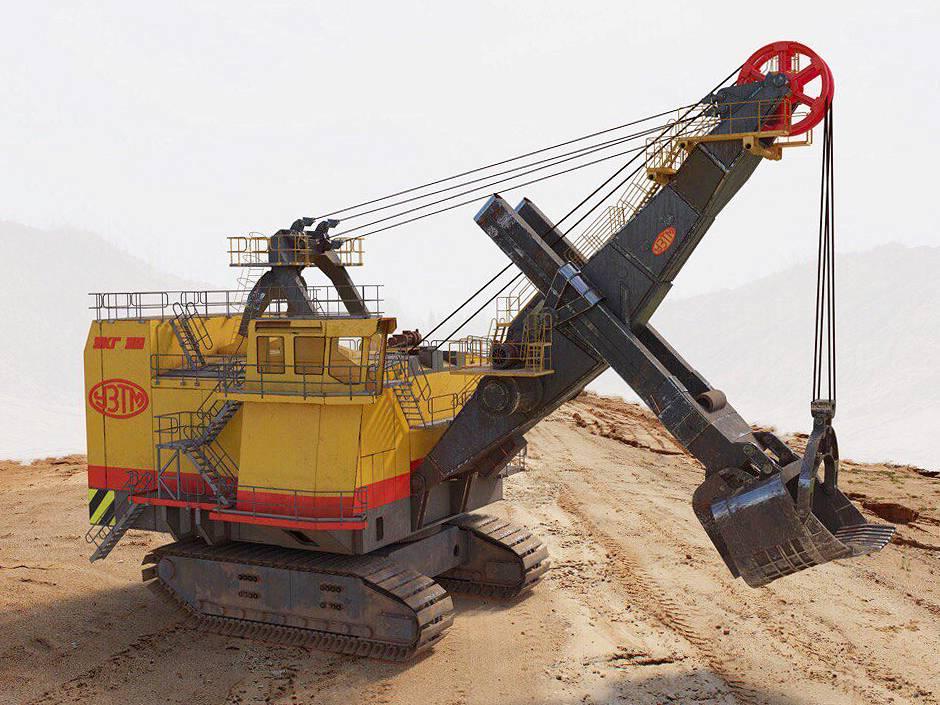 Свердловские машиностроители изготовили крупнейший в России экскаватор