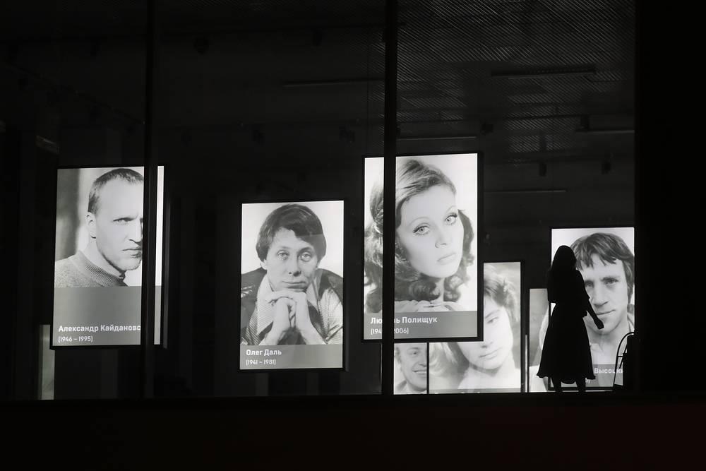 На церемонии открытия Музея кино в павильоне №36 на ВДНХ