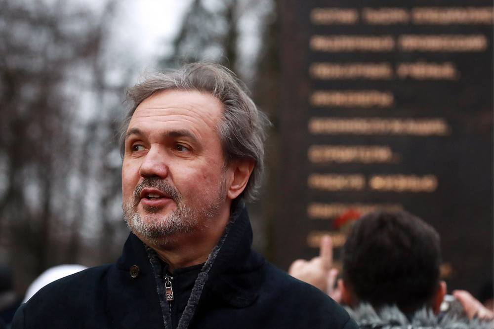 Скульптор, глава Союза художников России Андрей Ковальчук