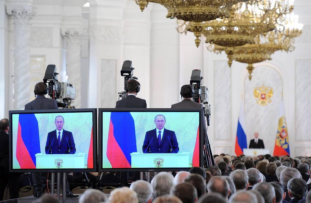 Ежегодное послание президента России Федеральному собранию РФ, 2013 год