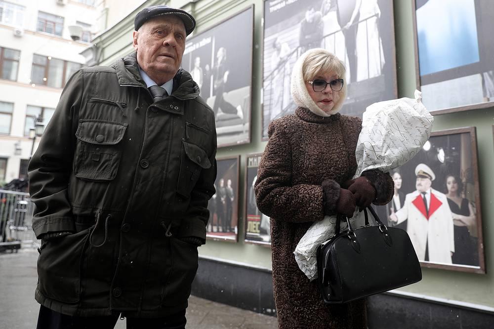 Режиссер Владимир Меньшов и его супруга, актриса Вера Алентова