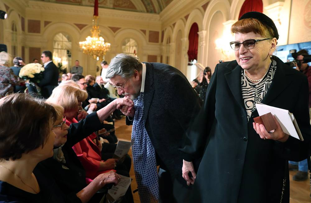 Александр Ширвиндт и Наталья Белоусова