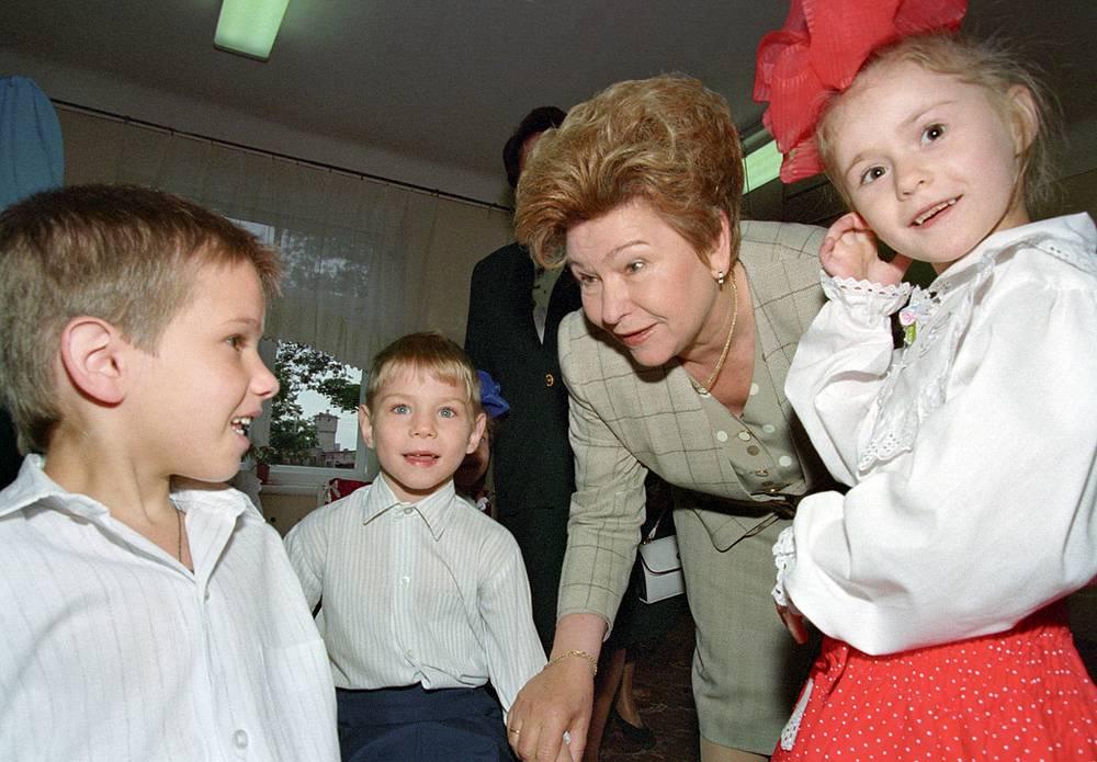 В одном из детских домов Калиниграда. 1996 год