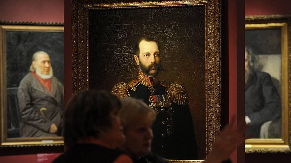 Портрет императора Александра II работы Алексея Харламова