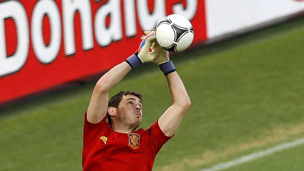Икер Касильяс. Испания