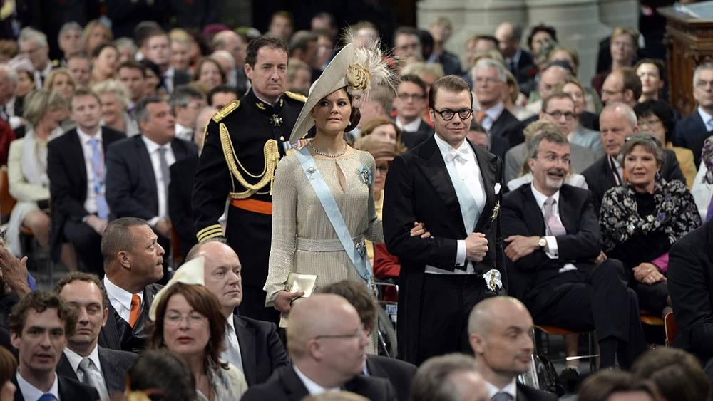 Шведская принцесса Виктория с супругом
