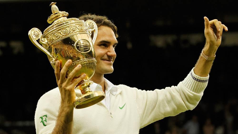 Роджер Федерер одержал победу
