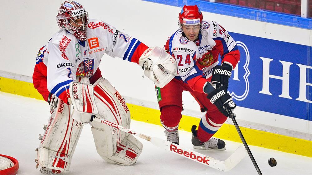 Матч Россия-Чехия