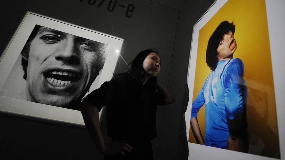 """Выставка в Москве """"Мик Джаггер. Фотоальбом"""" (2011 год)"""