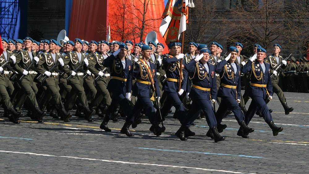ВДВ на Параде Победы