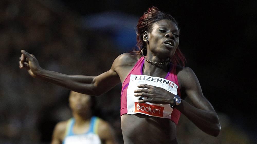 Омудосу из Нигерии - 1 место в беге на 400 м барьерами