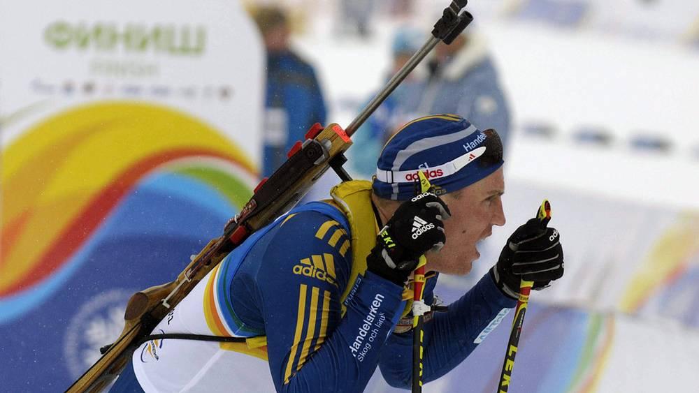 Шведский спортсмен Бьорн Ферри