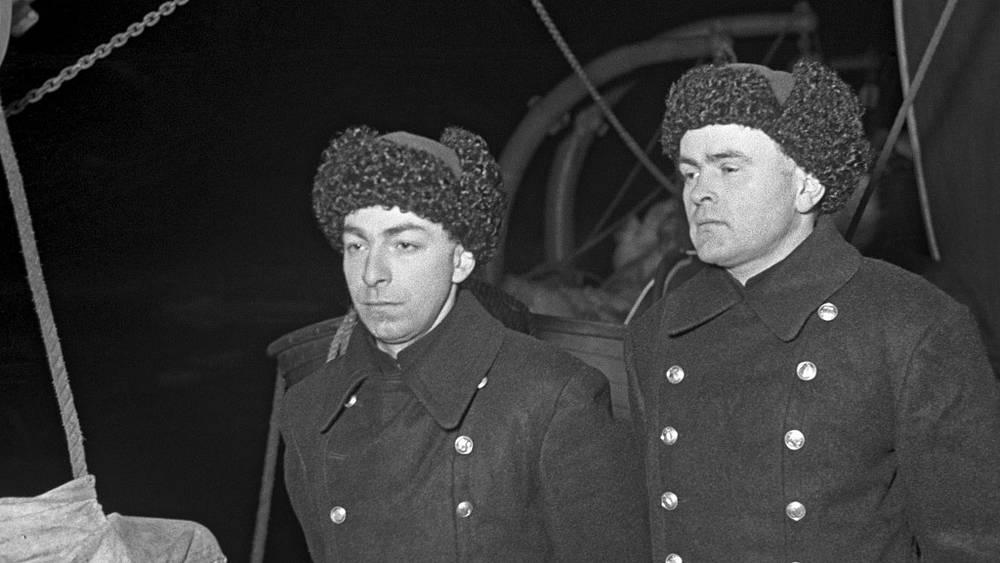 Евгений Федоров (слева) и Петр Ширшов