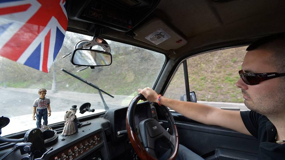 Участник кругосветного автопробега из Лондона «Такси вокруг света» Ли Пернелл