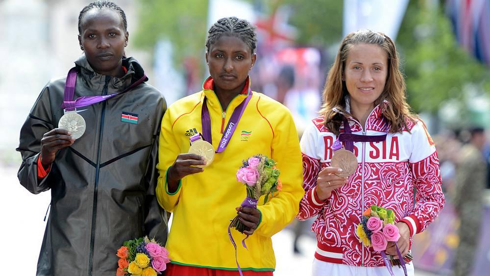 Татьяна Петрова-Архипова (бронзовая медаль)