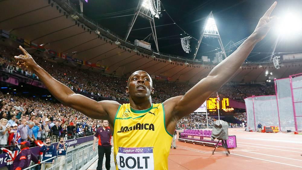 Усэйн Болт стал четырехкратным олимпийским чемпионом