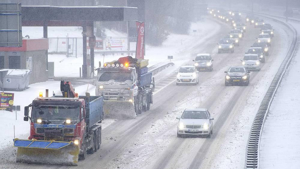 Снегопад в Нидерландах