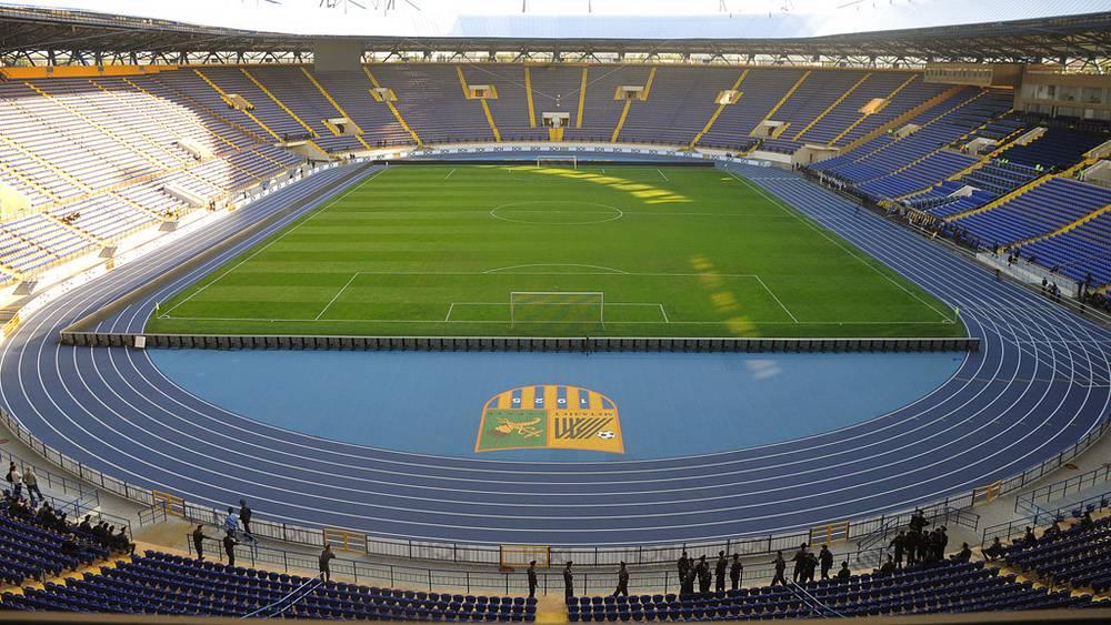 Стадион Евро-2012 в Харькове, Украина