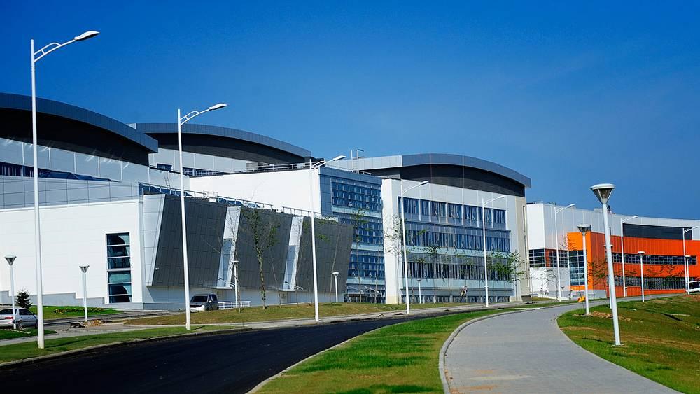 Дальневосточный федеральный университет /ДВФУ/ на острове Русский