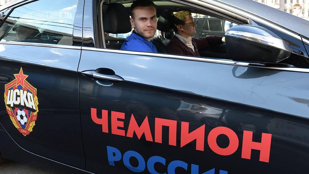 Вратарь ФК ЦСКА Игорь Акинфеев