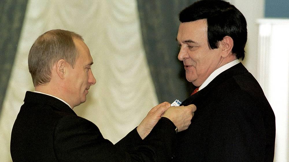 Владимир Путин наградил Орденом Почета певца Муслима Магомаев